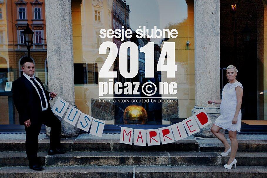 Sesje ślubne 2014