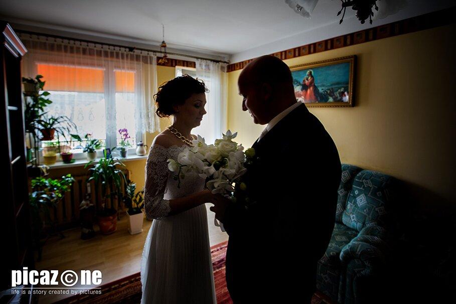 52 . Fotografie ślubne Marty i Krzysztofa 14 września 2013