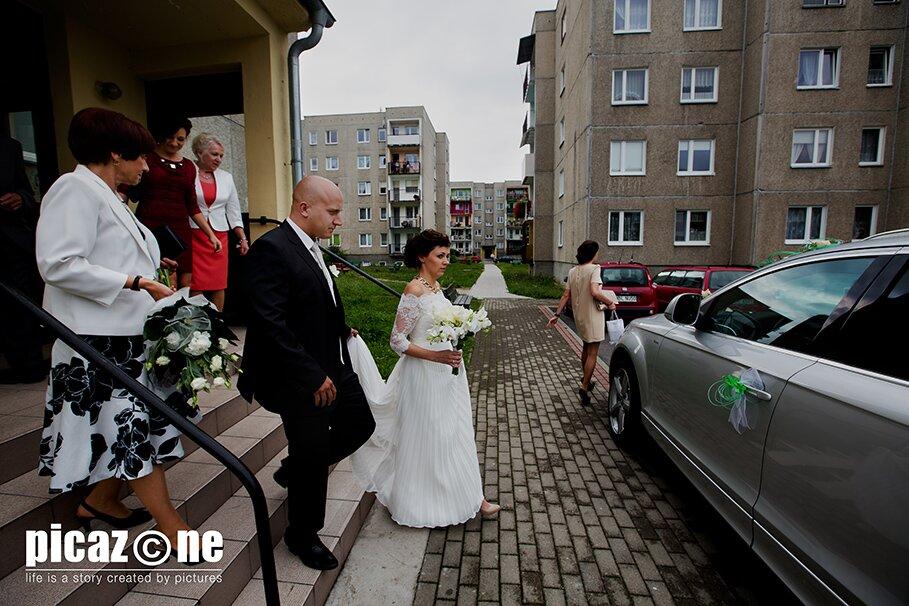 58 . Fotografie ślubne Marty i Krzysztofa 14 września 2013