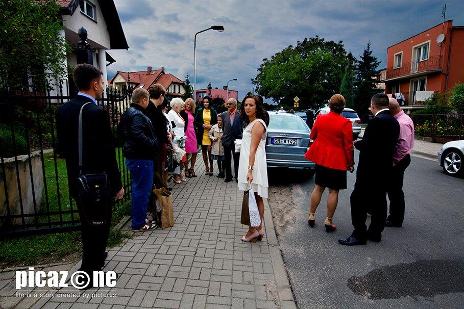 61 . Fotografie ślubne Marty i Krzysztofa 14 września 2013