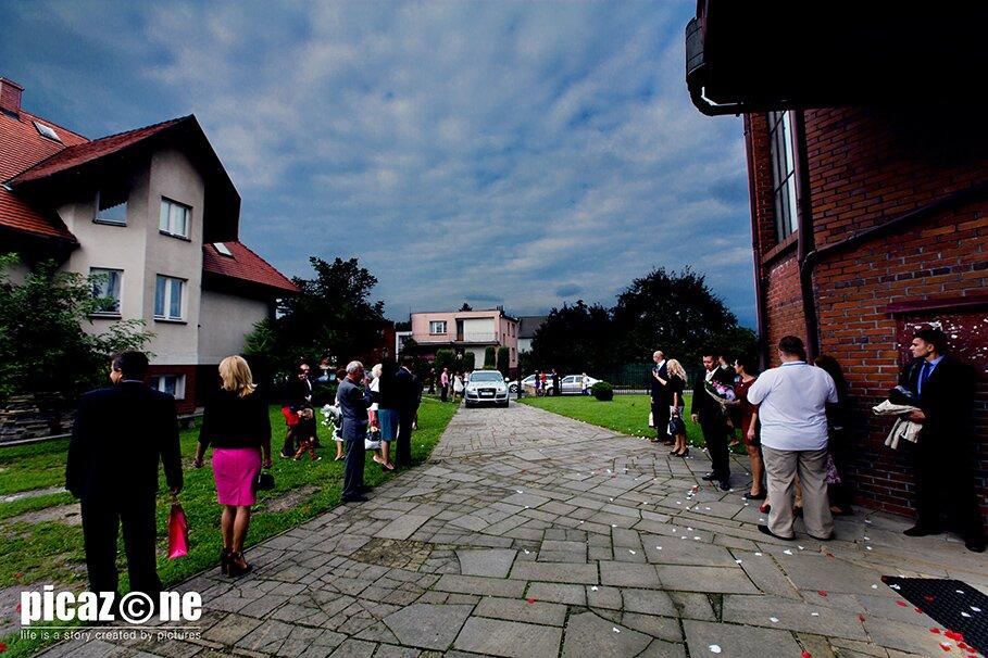 64.1. Fotografie ślubne Marty i Krzysztofa 14 września 2013