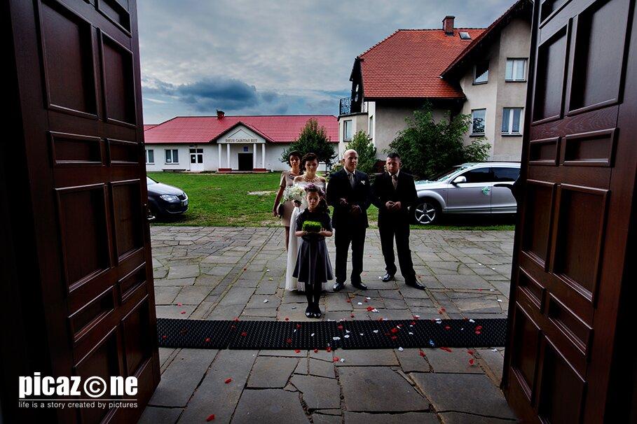 68.1 . Fotografie ślubne Marty i Krzysztofa 14 września 2013