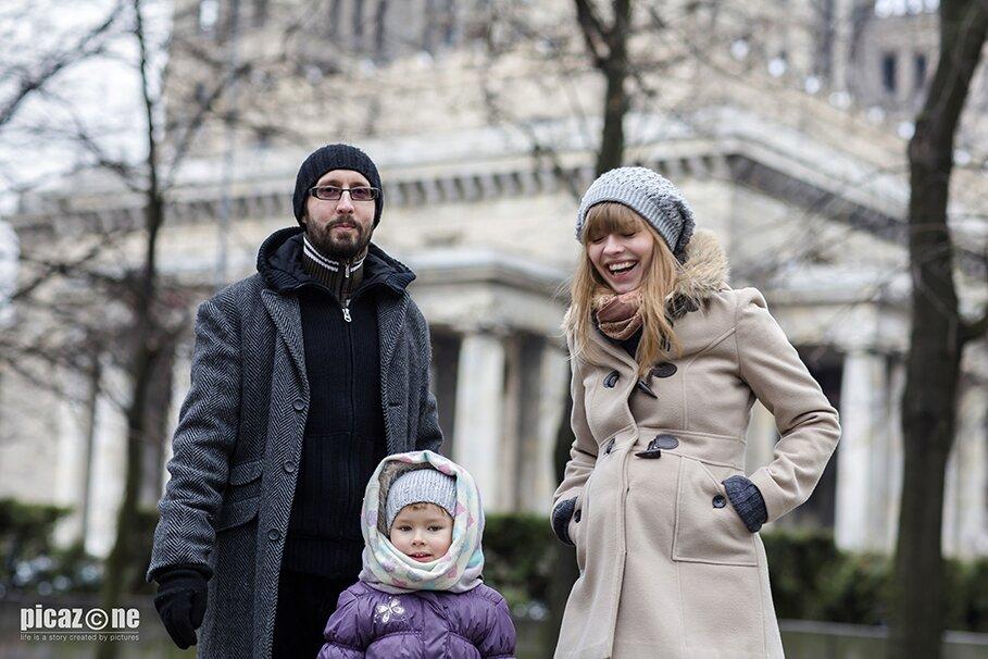 Sesja rodzinna Ania z rodzicami