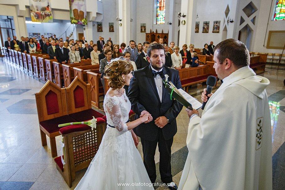 18. Dzień ślubu Agaty i Rafała 21.06.2014