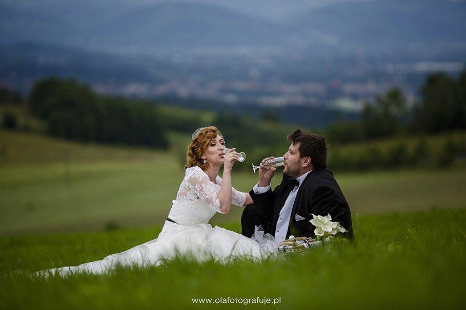 187. Dzień ślubu Agaty i Rafała 21.06.2014