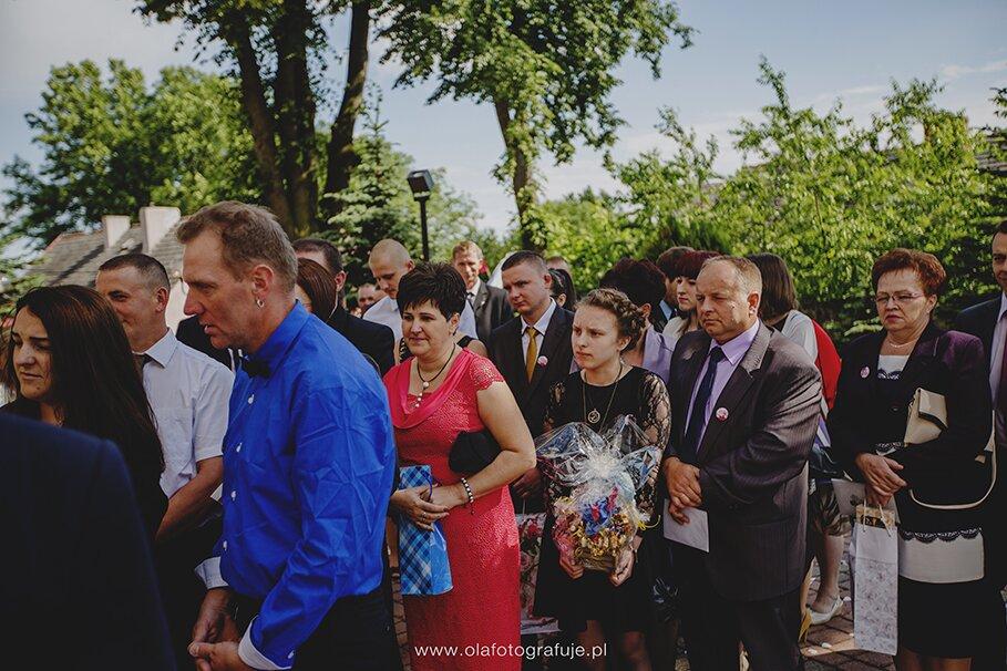 95. Dzień ślubu Iwony i Sławka 14 czerwca 2014