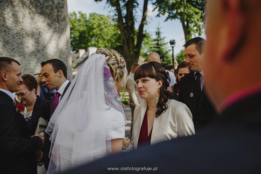 96. Dzień ślubu Iwony i Sławka 14 czerwca 2014